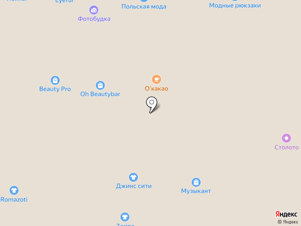 Красивые люди на карте Воронежа