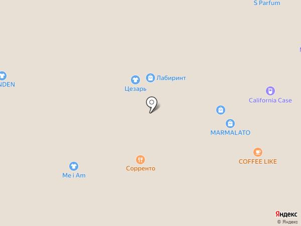 Слайд на карте Воронежа