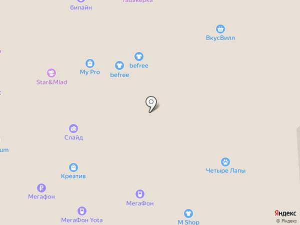 ЧУ на карте Воронежа