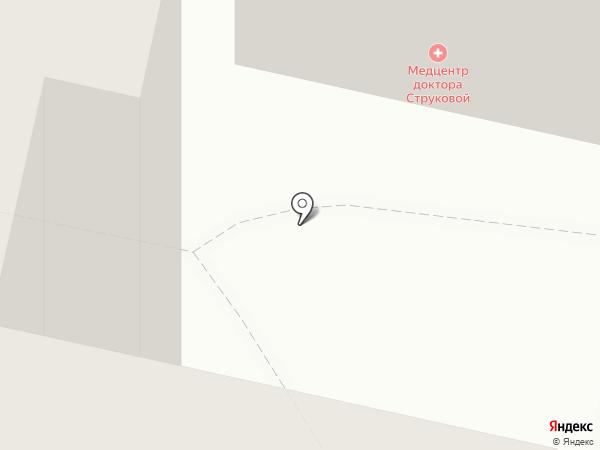 Медицинский центр доктора Струковой на карте Воронежа