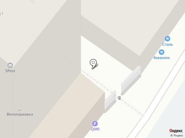 Строй Макс на карте Воронежа
