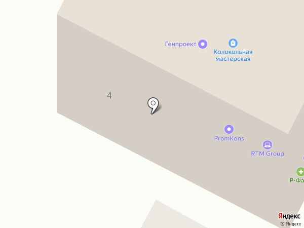 bulava.ru на карте Воронежа
