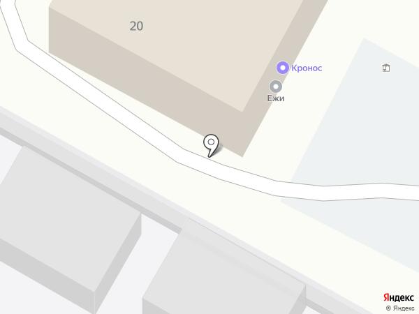 ПСК Кронос на карте Воронежа
