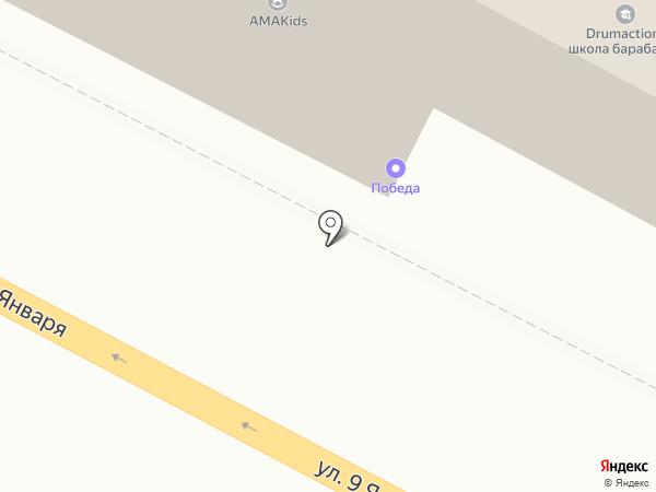 Фидес на карте Воронежа