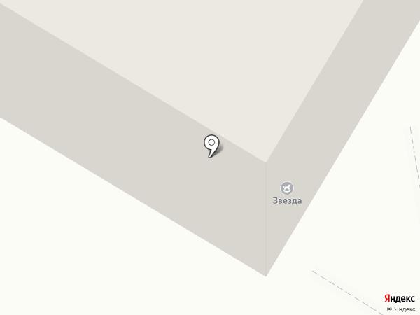 Звезда на карте Воронежа