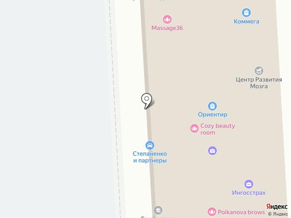 Драйв на карте Воронежа