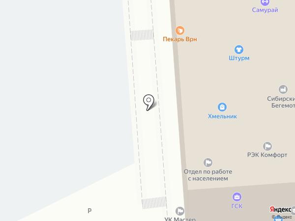 Сана на карте Воронежа