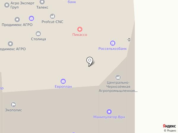 Сибинтек на карте Воронежа