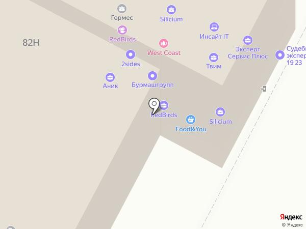 ЮристМастер на карте Воронежа