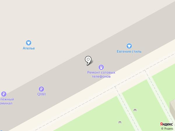 Сервисный центр на карте Воронежа