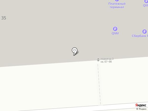 Хмельник на карте Воронежа