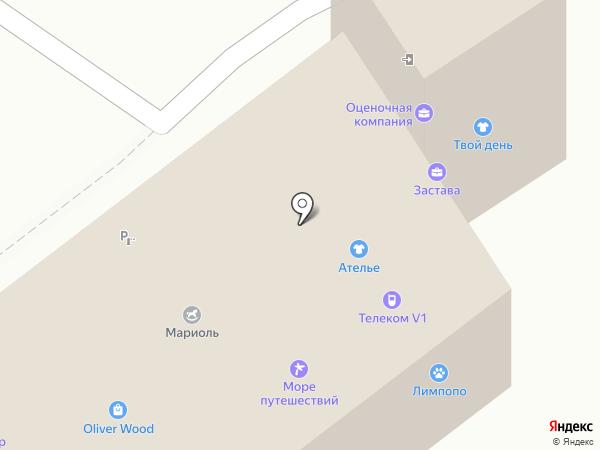 Вектор сервис на карте Воронежа