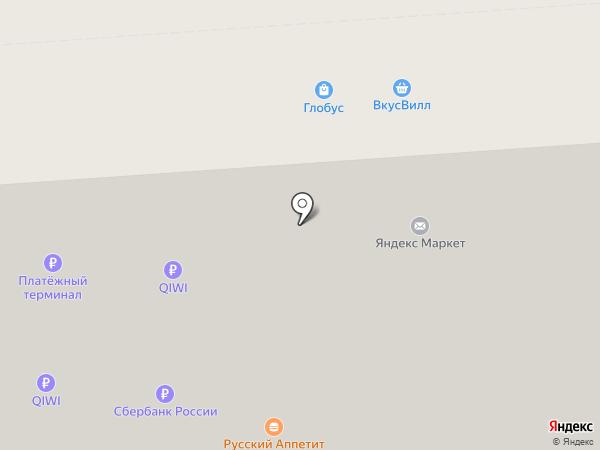 Мясорубка на карте Воронежа