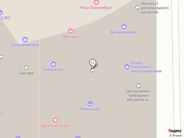Сапсан Плюс на карте Воронежа