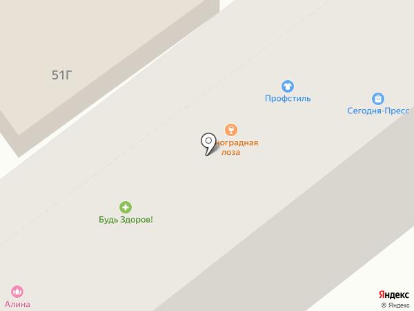 ДИОНИСФАРМ на карте Воронежа