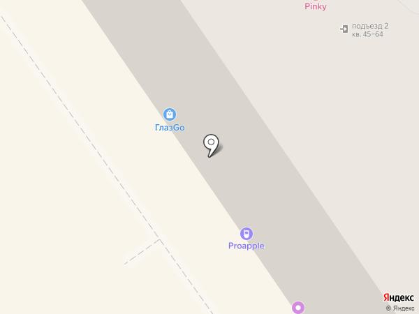 А-Мед на карте Воронежа