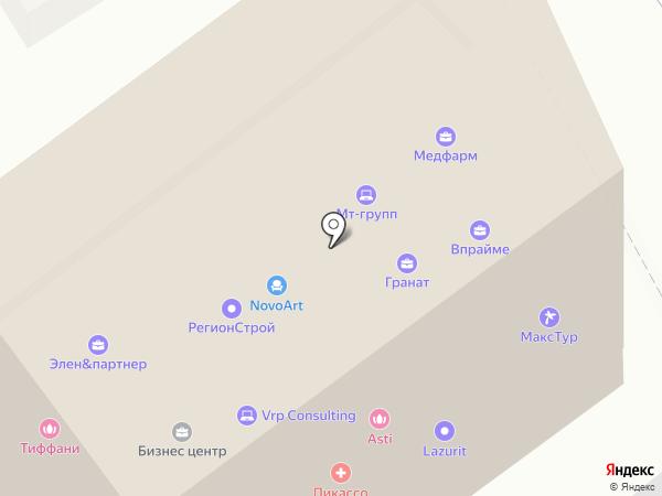 Колибри на карте Воронежа