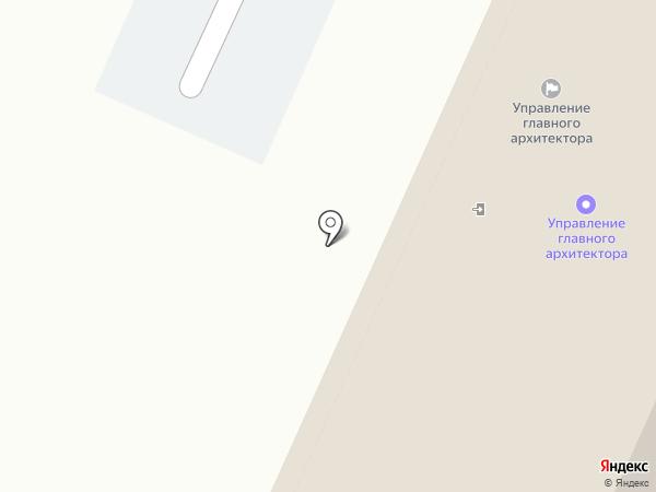 Управление главного архитектора, МКП на карте Воронежа