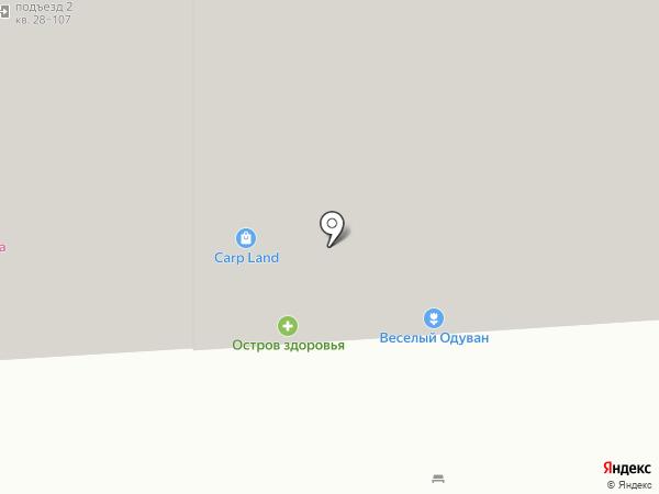 Острова на карте Воронежа