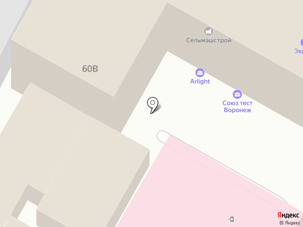 Приоритет на карте Воронежа