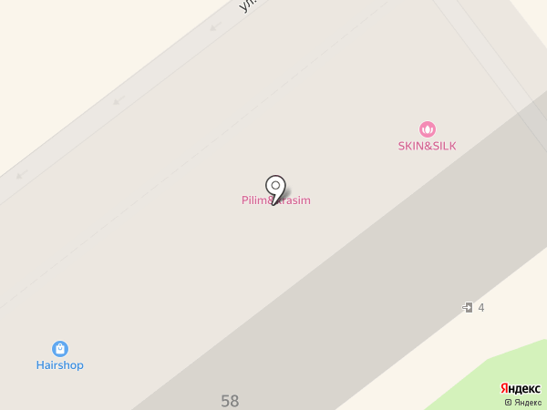 Пенсионный, КПК на карте Воронежа
