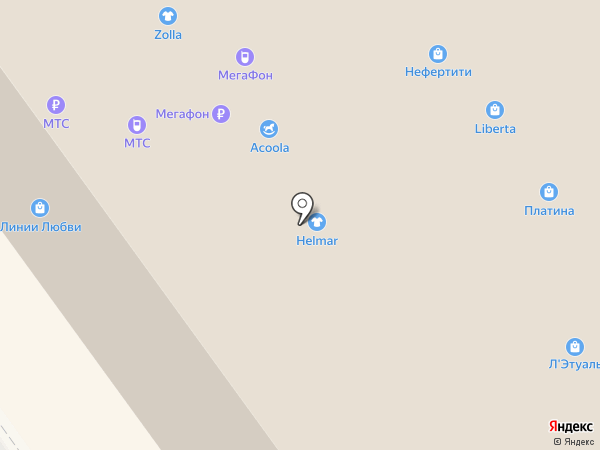 Камильян на карте Воронежа