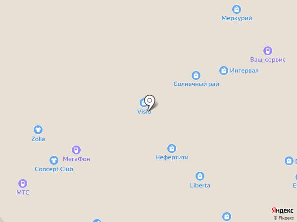 Cornette на карте Воронежа