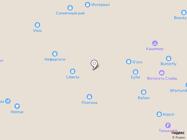 Мартини на карте Воронежа