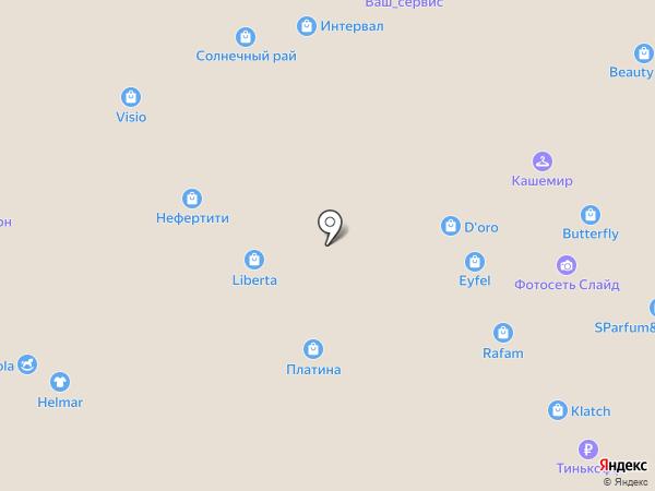КакВанГог на карте Воронежа