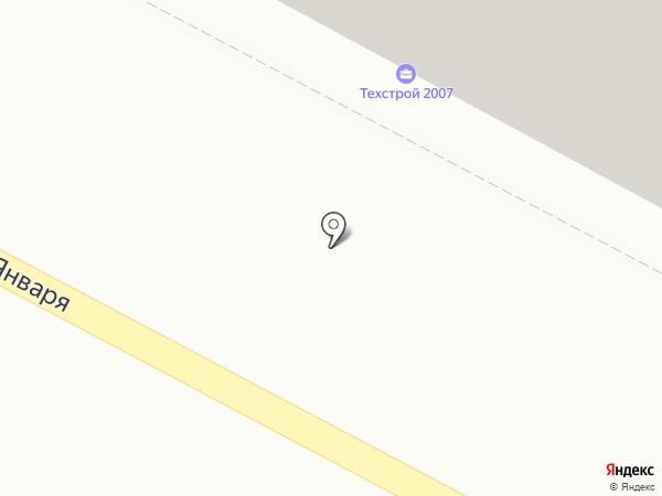 Черепаха на карте Воронежа