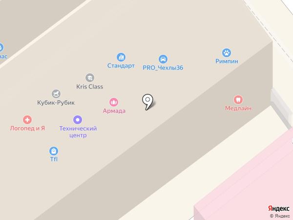 Стандарт на карте Воронежа