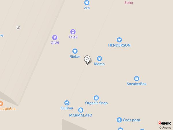 Билайн на карте Воронежа