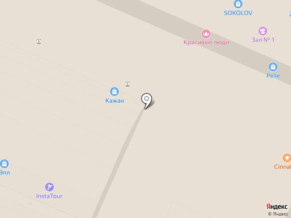Fantosh на карте Воронежа