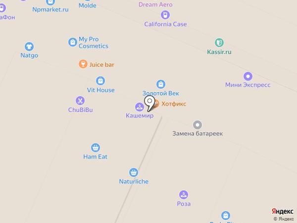 Ле Локль на карте Воронежа