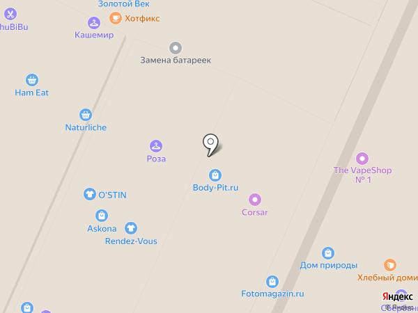 Equip на карте Воронежа