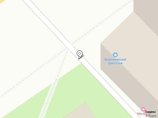ТРЕЗВЫЙ ВОДИТЕЛЬ на карте Воронежа