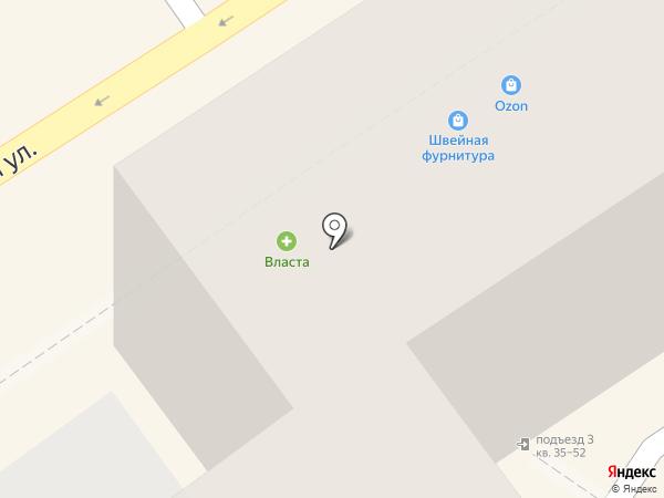 Карамель на карте Воронежа