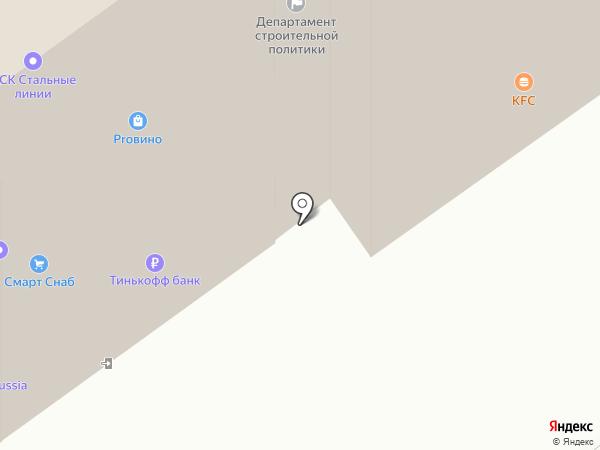 Гвозди на карте Воронежа