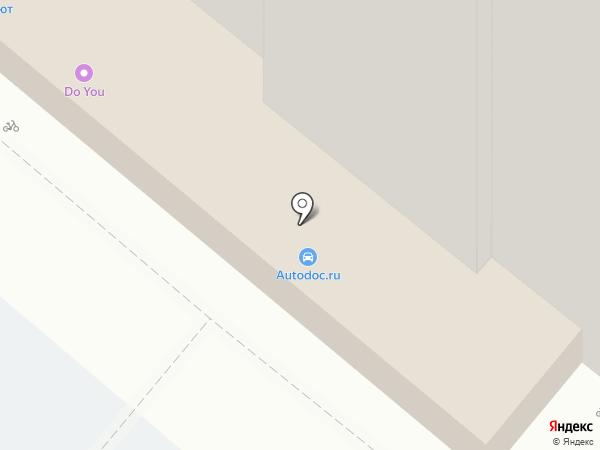 Стендор на карте Воронежа