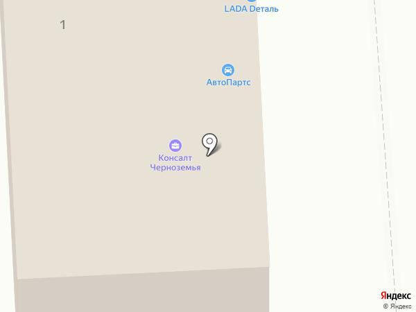 ProDrive на карте Воронежа