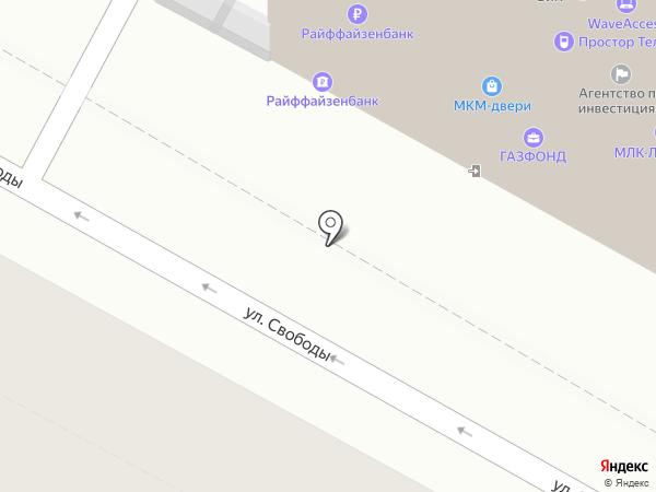 ЛАРГО на карте Воронежа