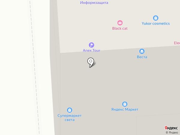 Ариадна на карте Воронежа