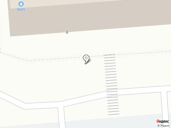 Мелина на карте Воронежа