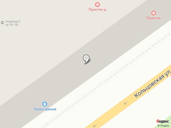 Блеск на карте Воронежа