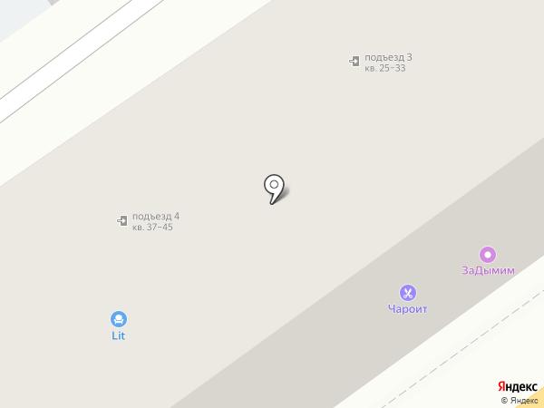Calete на карте Воронежа