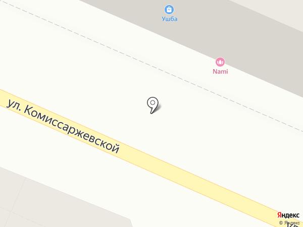 ОБД Северо-Запад на карте Воронежа