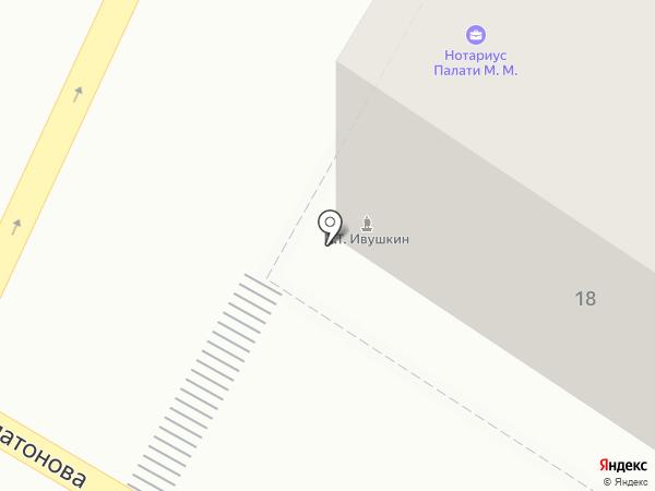 Недвижимость и кредит на карте Воронежа