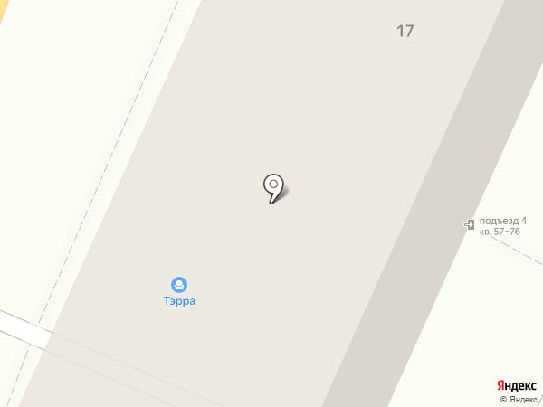 Чайная Линия на карте Воронежа