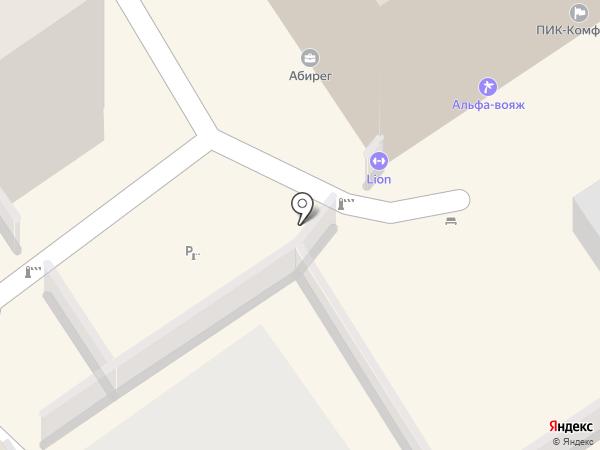 Lion на карте Воронежа