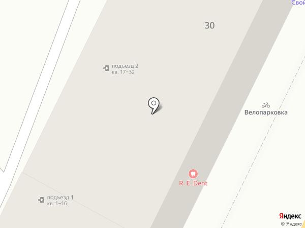 Болид-Авто на карте Воронежа